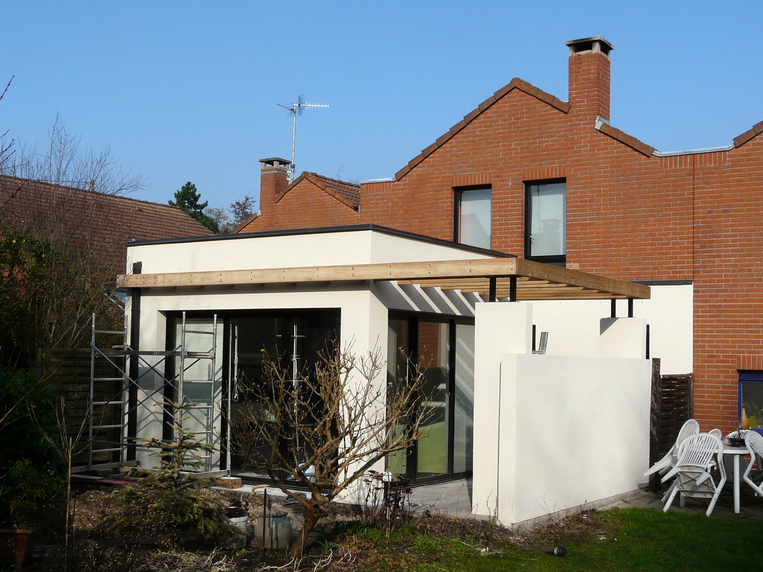 Extension moderne lille for Extension moderne